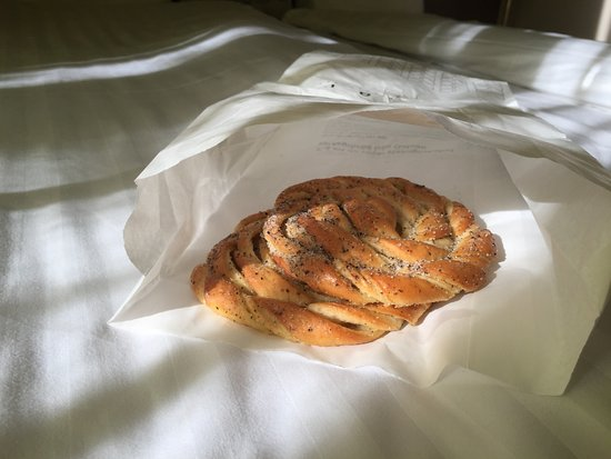 لوند, السويد: cardamom buns from gateau