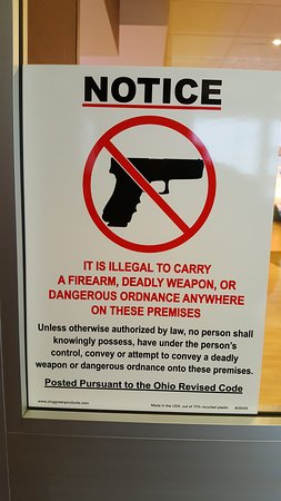 Jeffersonville, OH: This establishment does not allow your constitutional rights.