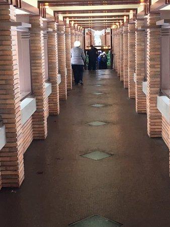 Frank Lloyd Wright's Darwin D. Martin House Complex : Pergolla