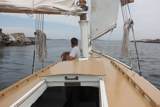 Boothbay Harbor, ME: Aboard the Sarah Mead