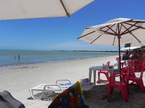 Relaxando na Barraca Macuco - Praia Mutá - Porto Seguro/BA