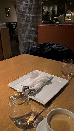 Asker, Noruega: Inne på restauranten