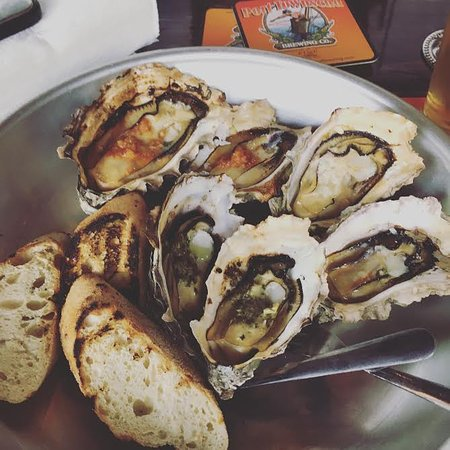 Lilliwaup, Waszyngton: Grilled Oysters