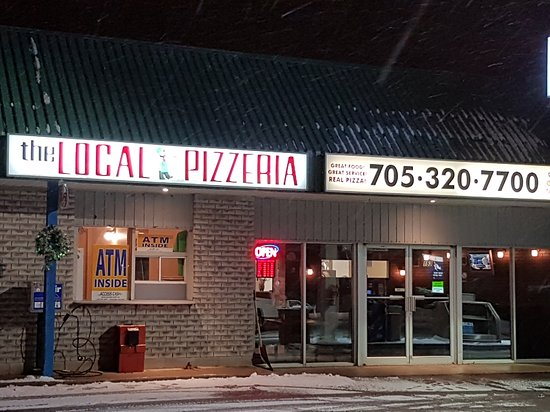 Lindsay, Kanada: The Local Pizzeria
