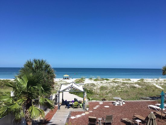 Sun N Fun Beachfront Vacation Rentals : views from beachfront apt #3 or #4   at Sun n Fun beachfront Rentals