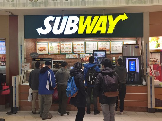 Subway - Upper Canada Mall Food Court, Newmarket ON