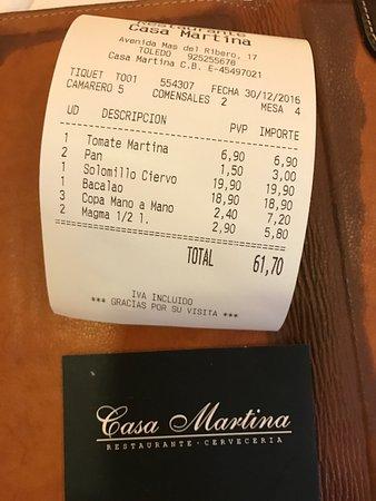 Cerveceria Restaurante Casa Martina
