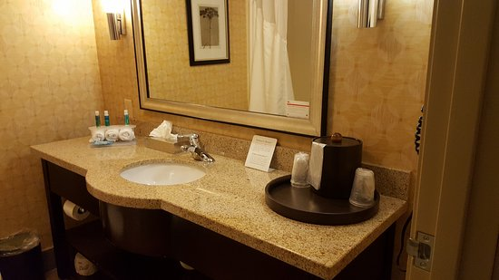 Holiday Inn Express & Suites Atlanta N-Perimeter Mall Area: The usual mini lotions and soaps -