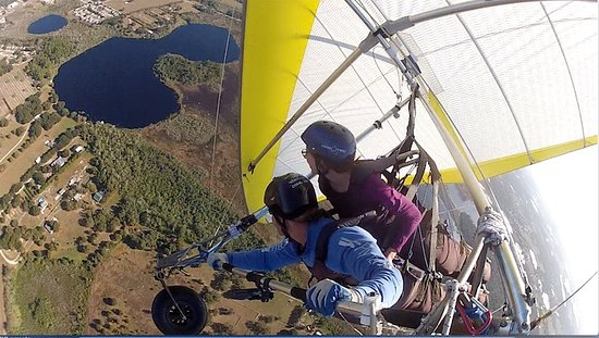 Quest Air Hang Gliding: Hang Gliding over Lake County