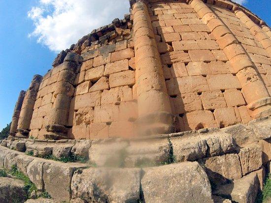 Algier, Algeriet: quelques scriptiti anciens sur la colonne...