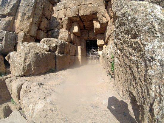 Algier, Algeriet: l'entree du mausolee...
