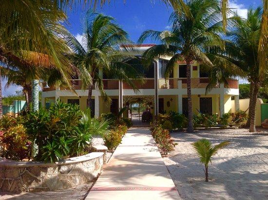 Casa de Celeste Vida and the front garden