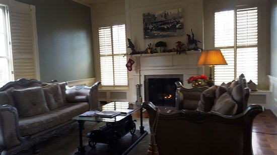 Rocky Mount, Virginie : The Library at The Early Inn at the Grove