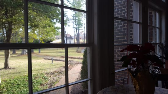 Rocky Mount, VA: View of the property from the bar of The Early Inn at the Grove