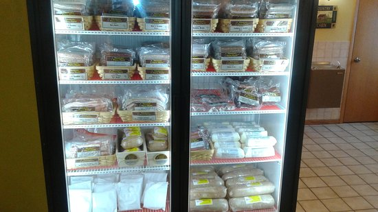 DeForest, WI: Big selection of meats