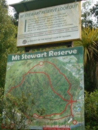 Taihape, New Zealand: Mt. Stewart Reserve Information