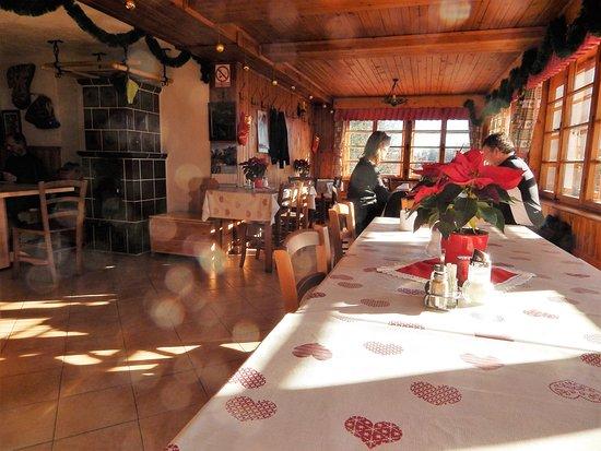 Srednja vas v Bohinju, Slovenien: Uskovnica,  Alpine Hut, inner room