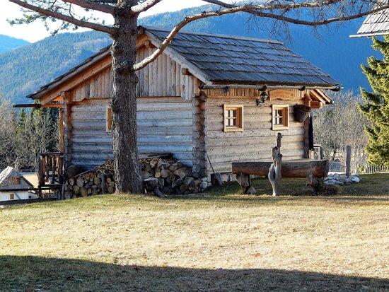 Srednja vas v Bohinju, Slovenien: Uskovnica, old cottage