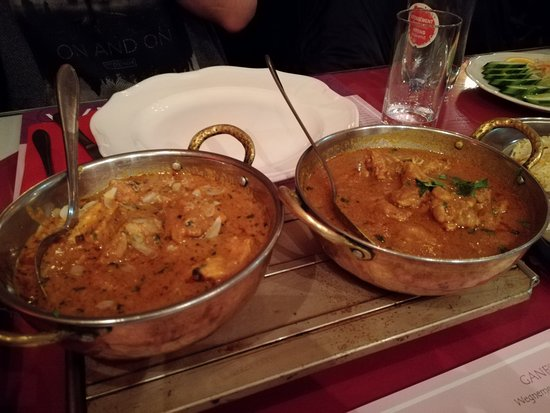 Ganesha: Butter Chicken e Chicken curry