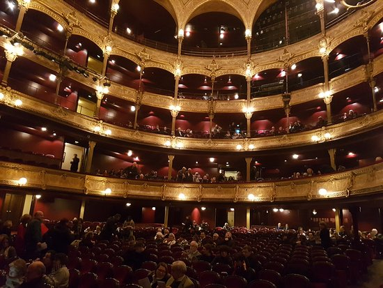 Chatelet - Theatre Musical de Paris: vue du theatre