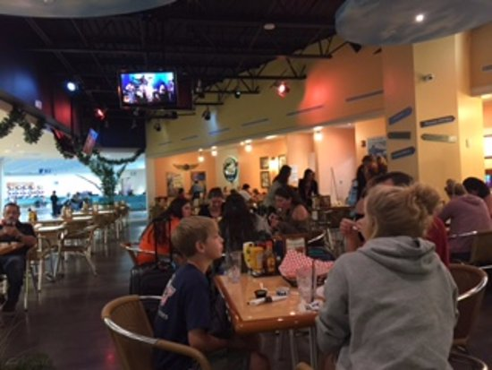 Air Margaritaville: TV screens for those who want to watch sports