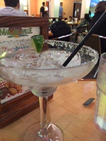 Air Margaritaville: finished margarita...salted rim