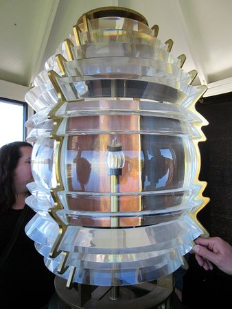 Charlotte-Genesee Lighthouse: The light house light (not original)