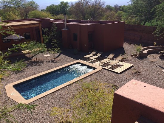 Casa Solcor Boutique Bed &Breakfast: December 2016; pool