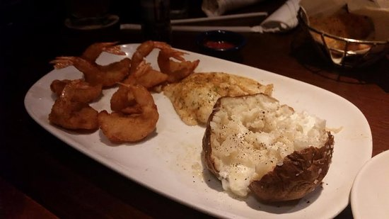 Trussville, AL: Our entree, cooked as ordered, sorta plain