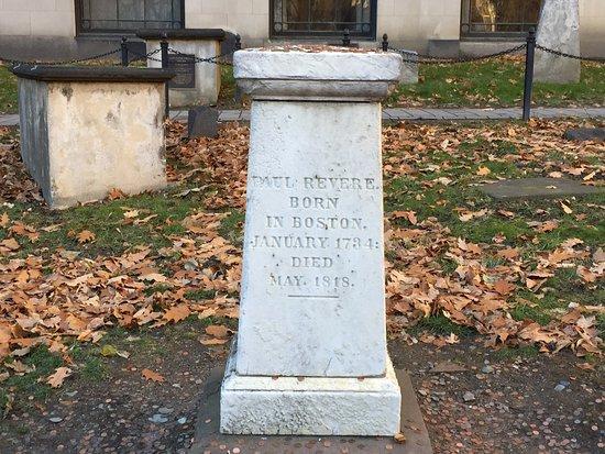 Lessons on Liberty: Paul Revere memorial