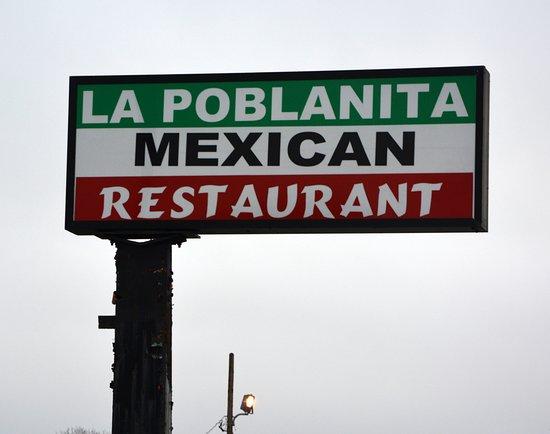 La Poblanita Restaurant: MAIN Sign