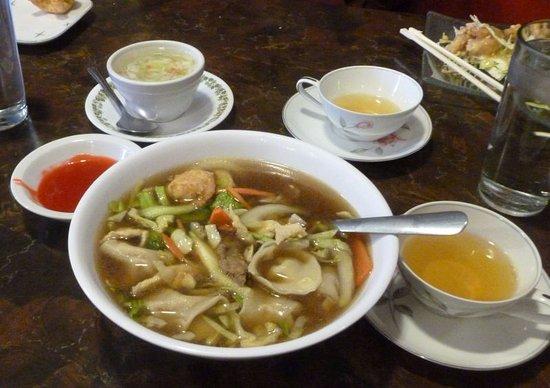 Cheney, WA: Wonton Soup...