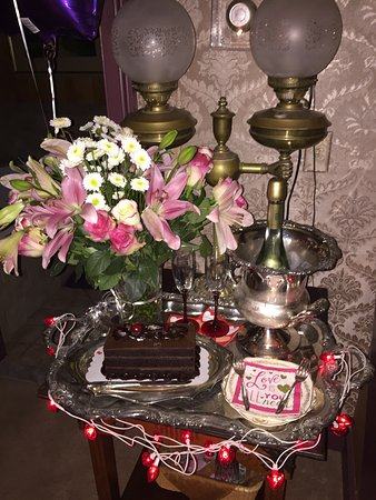 "Округ Мистик, Коннектикут: My husband ordered this amazing surprise for me called the ""romance package."" It was so beautifu"