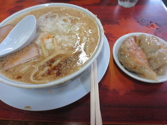 Tsubame, Japón: ラーメンとギョーザ