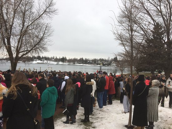 Skaneateles Lake - singing on the lake
