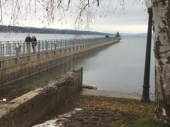Skaneateles Lake - pier