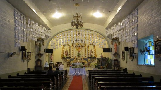 Baler, Philippines: Inside the church