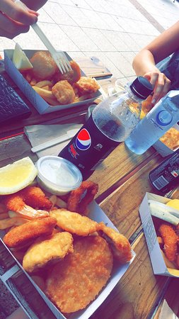 A fish shop called dory ballina restaurant reviews for Fish call review