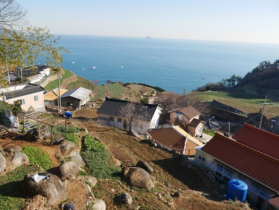 Namhae-gun, Corea del Sur: Its a tiny village
