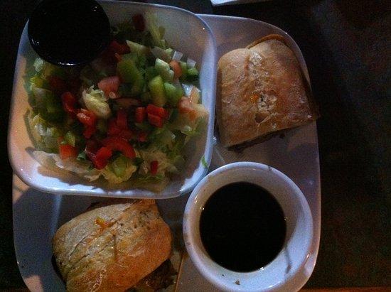 Mission, Canada: Beef Dip & Salad