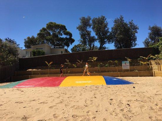 Comfort Resort Kaloha: The jumping pillow