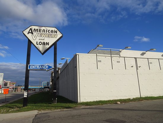 Viewed from street picture of american jewelry and loan for American jewelry and loan 8 mile detroit