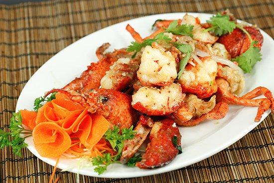China City Licensed BYO Restaurant: stir fried crayfish