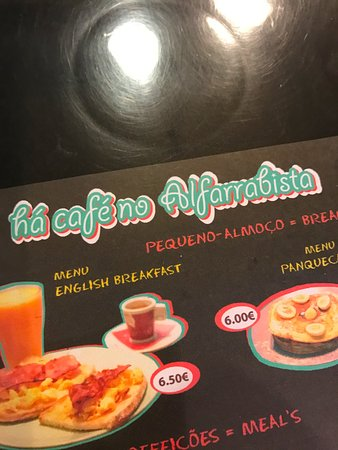 Estremadura, Portugal: Przykładowe menu