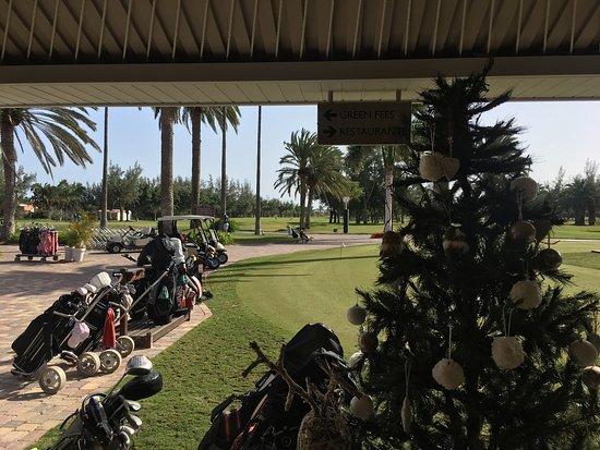 Campo de Golf Maspalomas: Jul på golfbanen