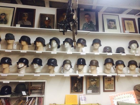 WW2 German helmets       - Picture of Military Antiques & Museum