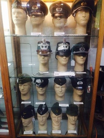 Variety of WW2 German hats and caps      - Picture of Military