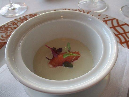 La Mer -  L'Aperitif: アヒルのフォアグラ料理