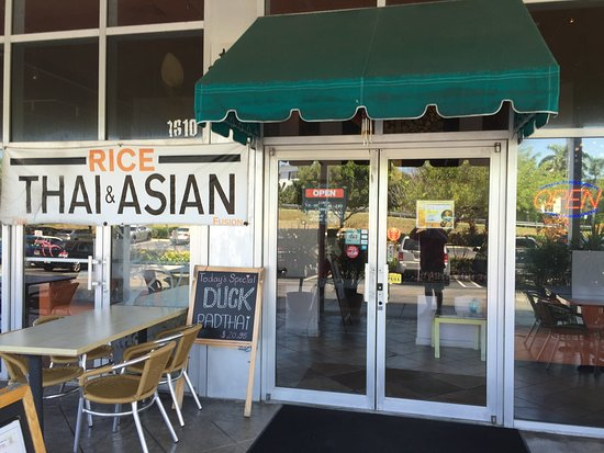 Rice fine thai asian fusion boynton beach for Aroi fine thai japanese cuisine