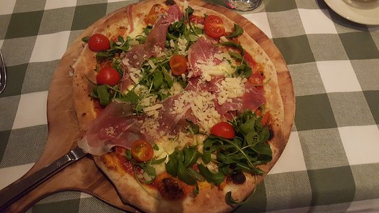 Usedom Island, Germany: Pizza Rucola